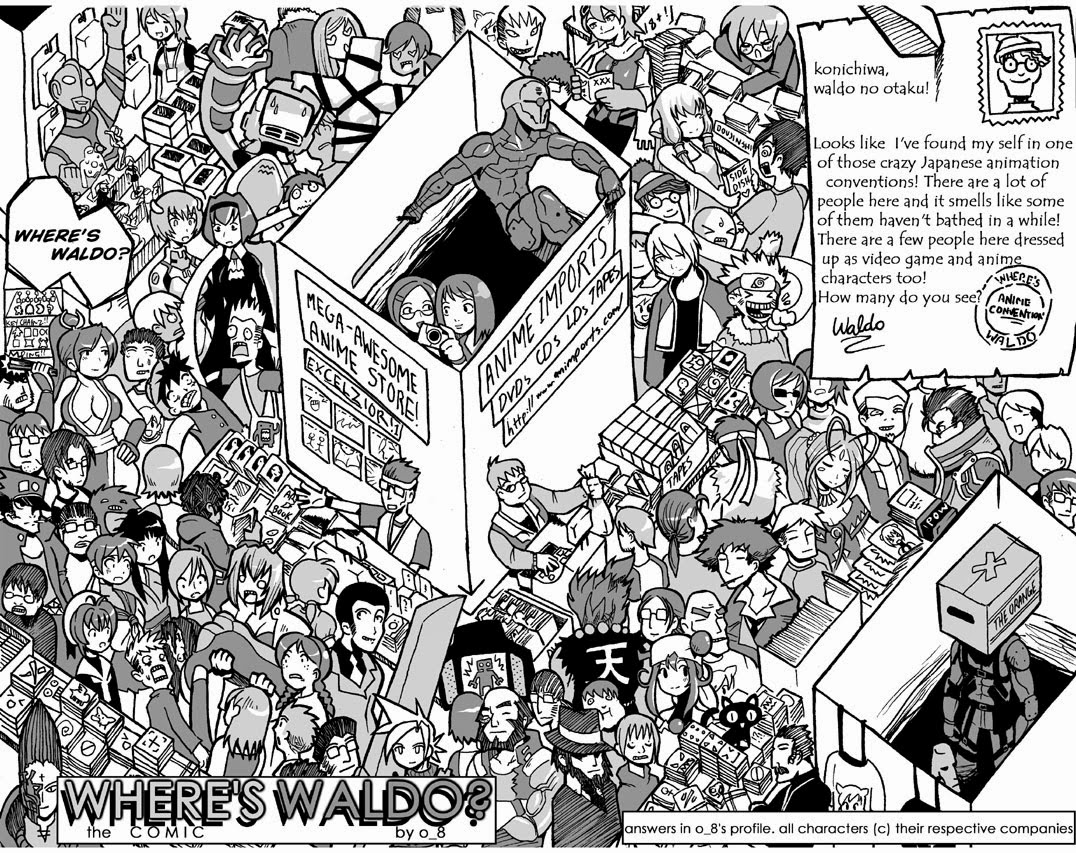 wheres waldo coloring pages - photo#22