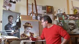 GUSTAVO GONZÁLEZ ECHEVERRÍA. El amor a la pintura nos anima a superarnos en el oficio.