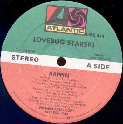 Lovebug Starski – Rappin' (1985, VLS, 192)