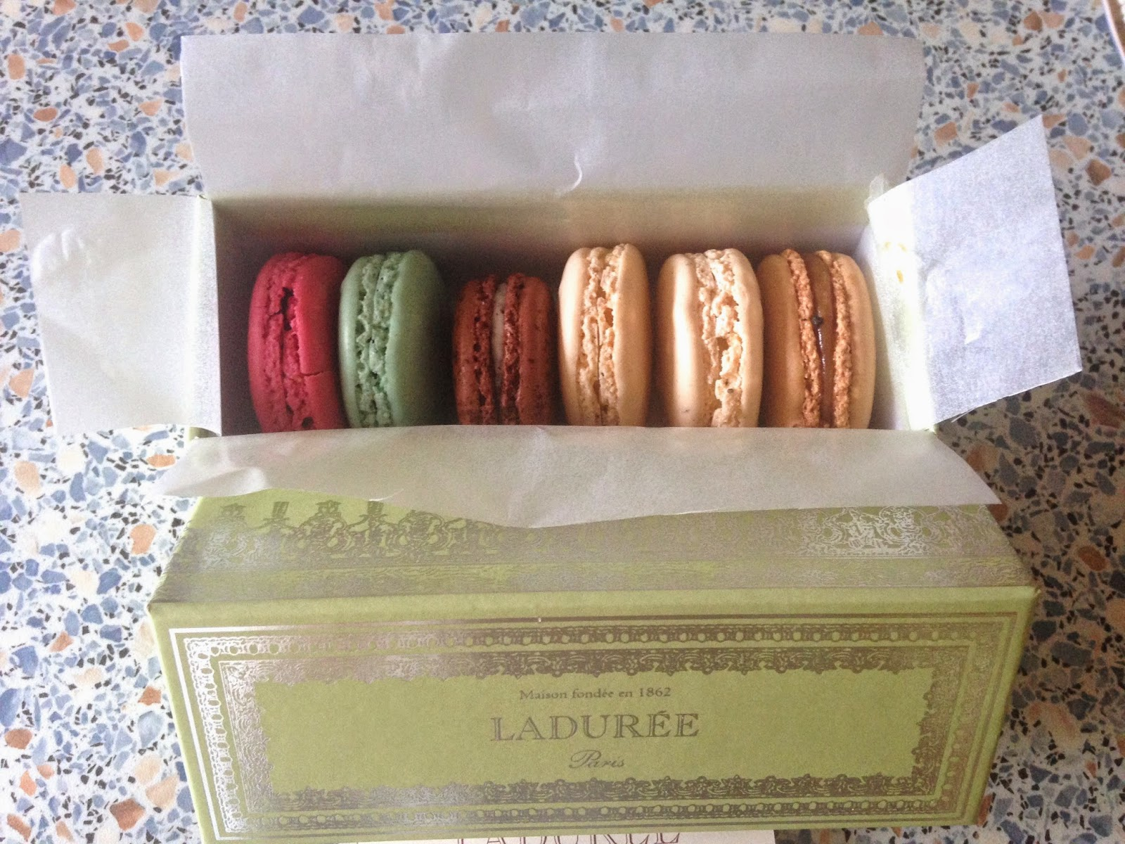 A picture of Laudree Macaroons
