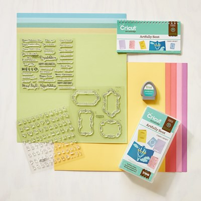 CTMH Artfully Sent Cricut Cartridge
