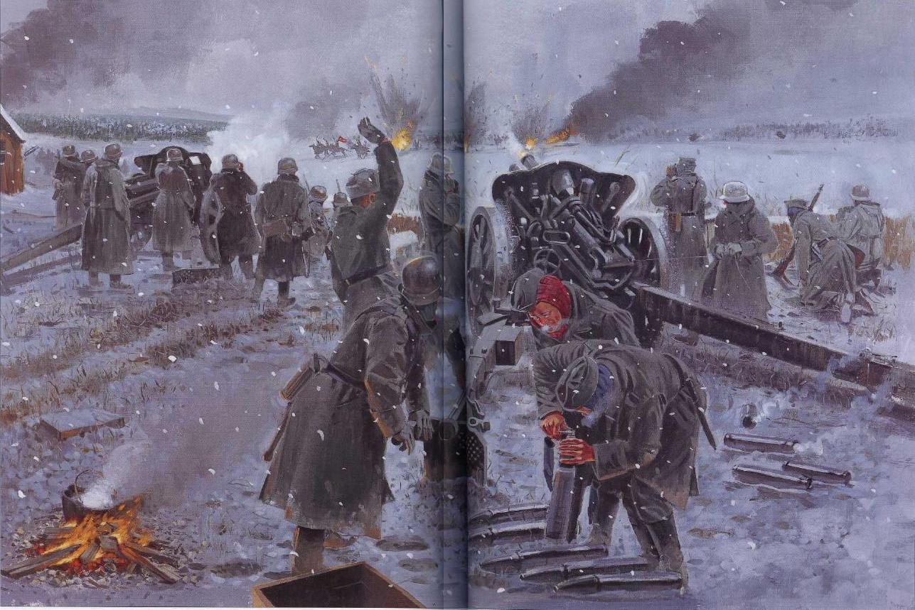 Diario de guerra: La carga suicida de la 44ª División de Caballería ...