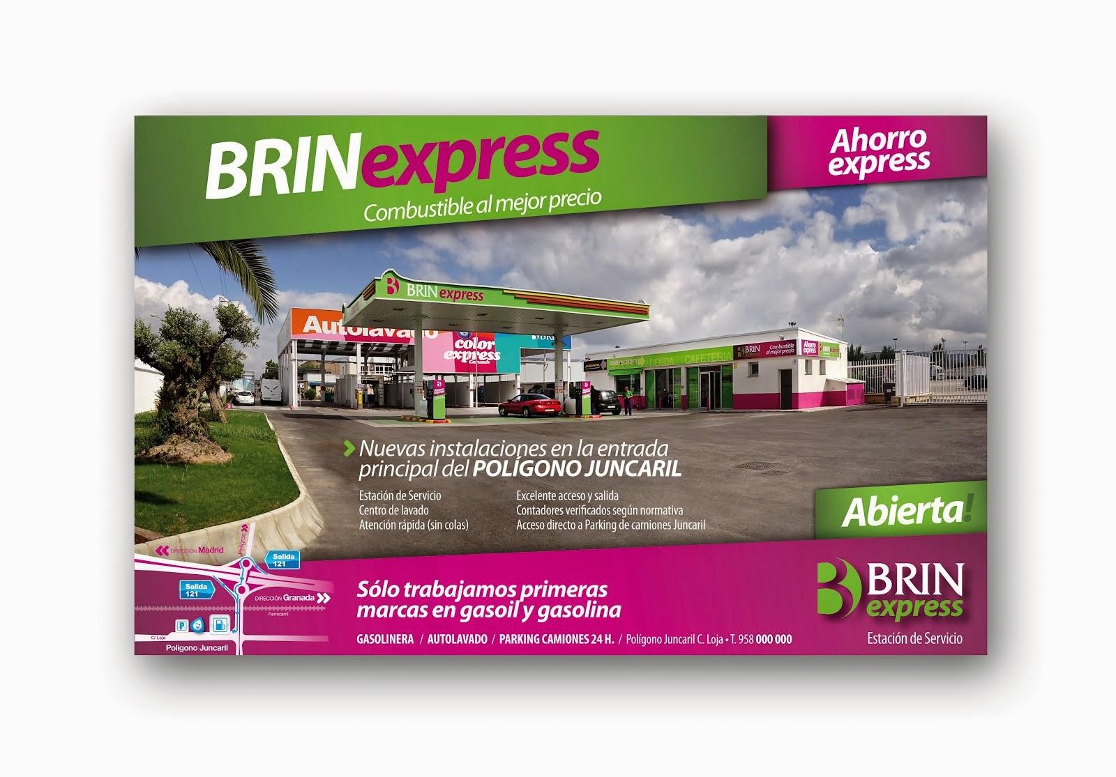 Somos BRINexpress, tu Estación de Servicio solidaria.