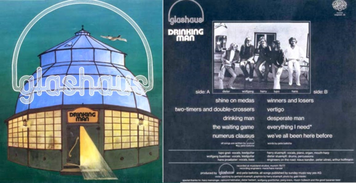 "Glashaus ""Drinking Man"" LP (1977)"