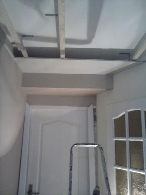 R novation de ma maison transformation d 39 un couloir for Pose d un lambris mural horizontal