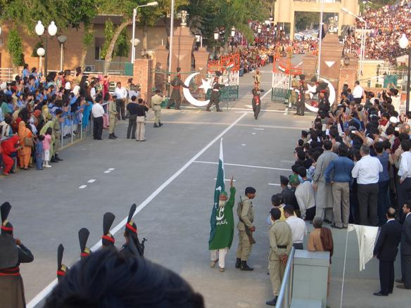 wagah border Find information about wagah border, its history, location, timings, how to  reach, map & where to stay wagah border is only road border.