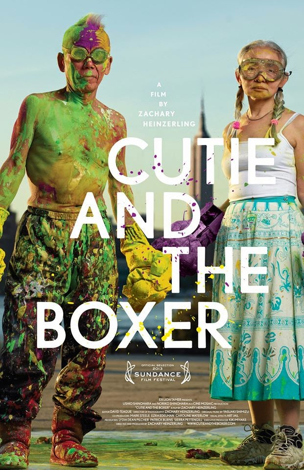 Cutie and the Boxer Poster