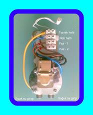 ALSU Tezgah Altı Şofben Elektrik Bağlantı Şeması