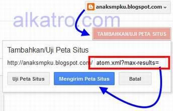 CaraSubmitSitemap,Cara Submit Sitemap Blogger ke Google
