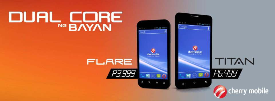 cherry mobile flare and cherry mobile titan cherry mobile just