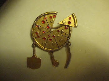 My new pizza pin from England..I love it and it was cheap. :)
