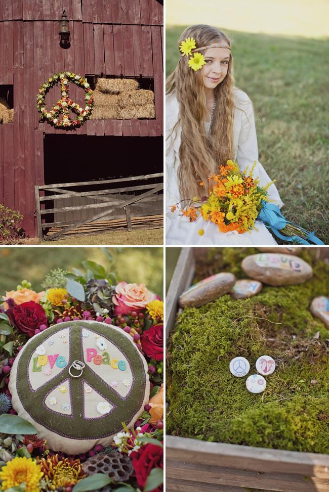 Wedding decoration hippie cake ideas and designs for Decoration hippie