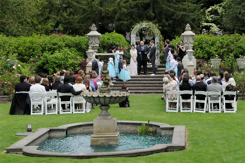 Imagine themed decor victorian hat themed wedding for Outdoor wedding washington state