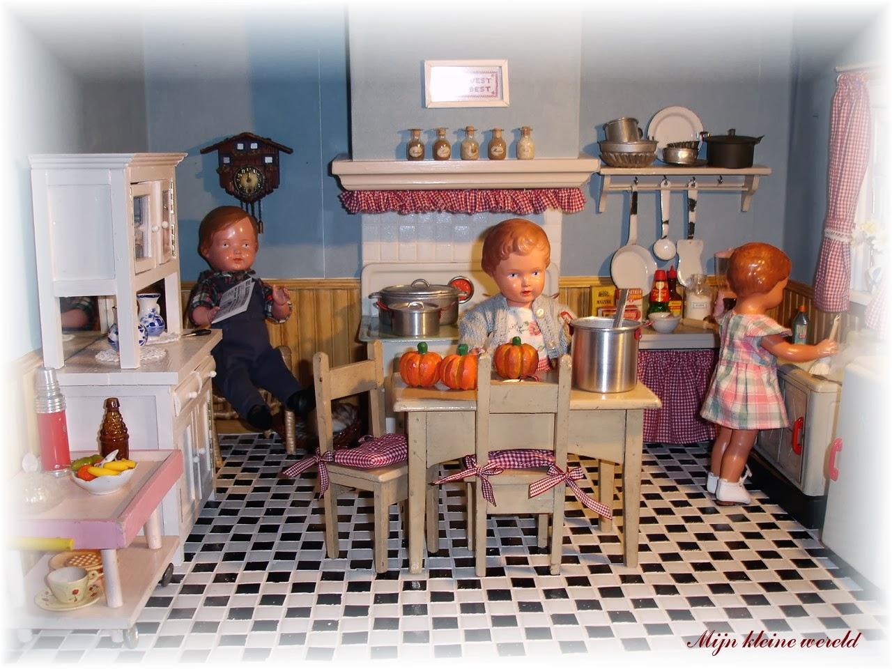 Vernieuwd keukentje