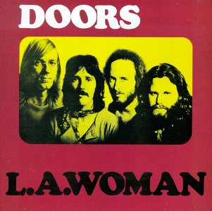 Imagen del LP: L.A. Woman, the Doors, 1971