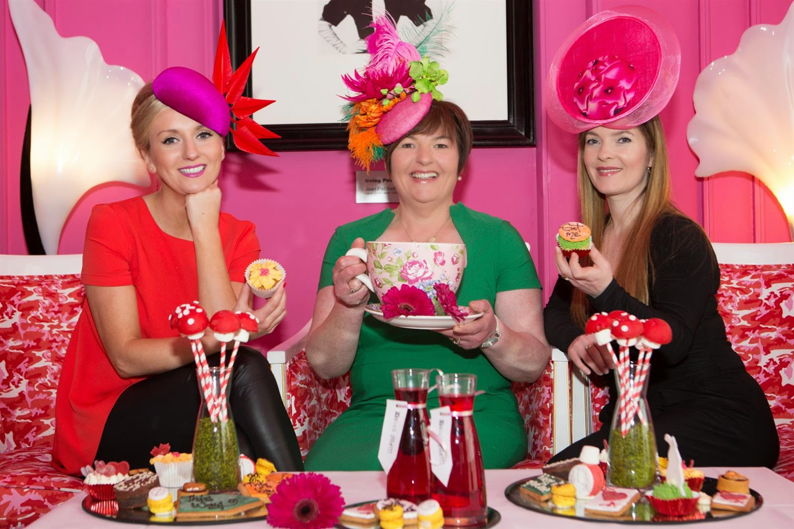 The g hotel Galway: Mad Hatters Tea Party at the g for Croí\'s Women ...