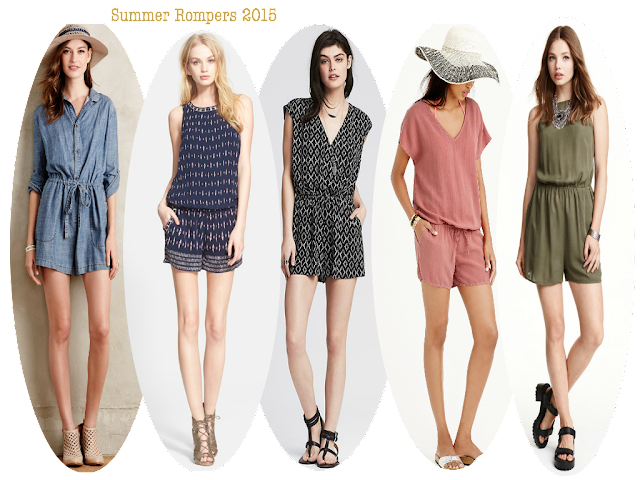 Summer Rompers 2015, Nordstrom, Banana Republic, Anthropologie, Jcrew, H&M, Rompers, Jumpsuits, Rompers 2015