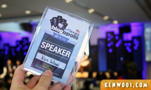 nuffnang blogopolis speaker