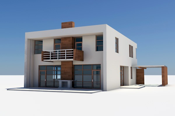 Sell 3d models 3d model house design