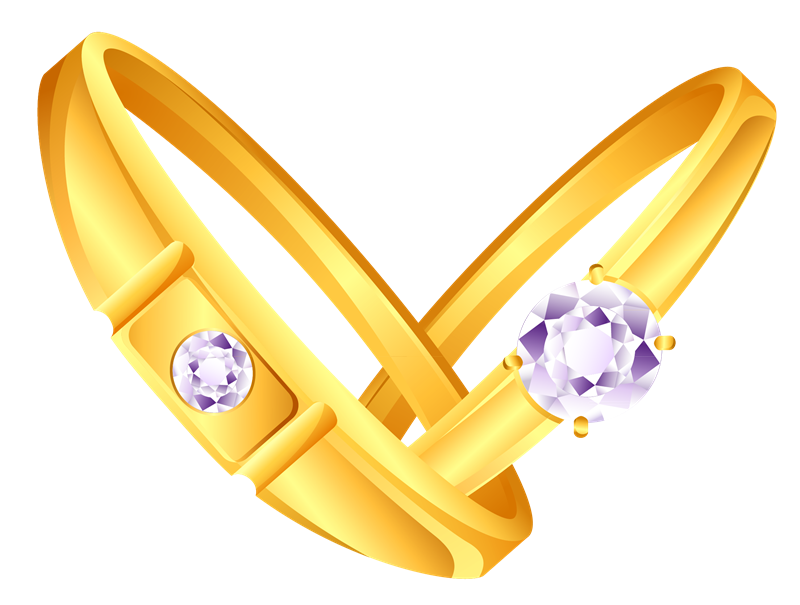 Engagement Ring Vector Rt