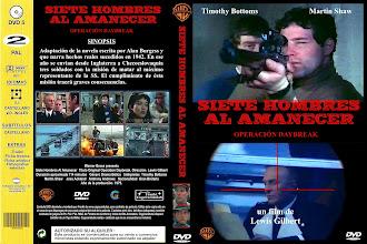 Carátula: Siete hombres al amanecer (Operation: Daybreak - 1975)