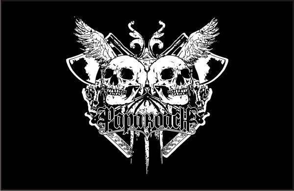 papa_roach-skull_front_vector