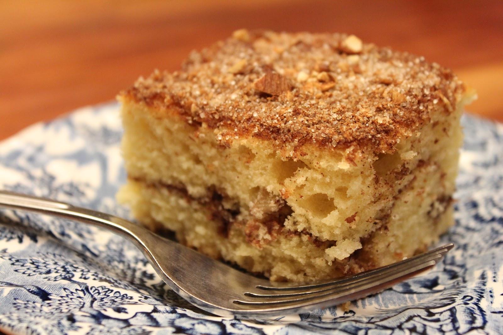 Stella's Virtual Cafe: Nana's Cinnamon Coffee Cake