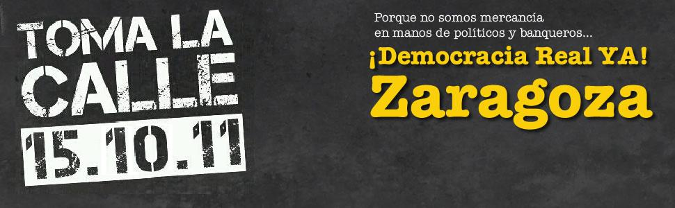 Democracia Real Ya - Zaragoza