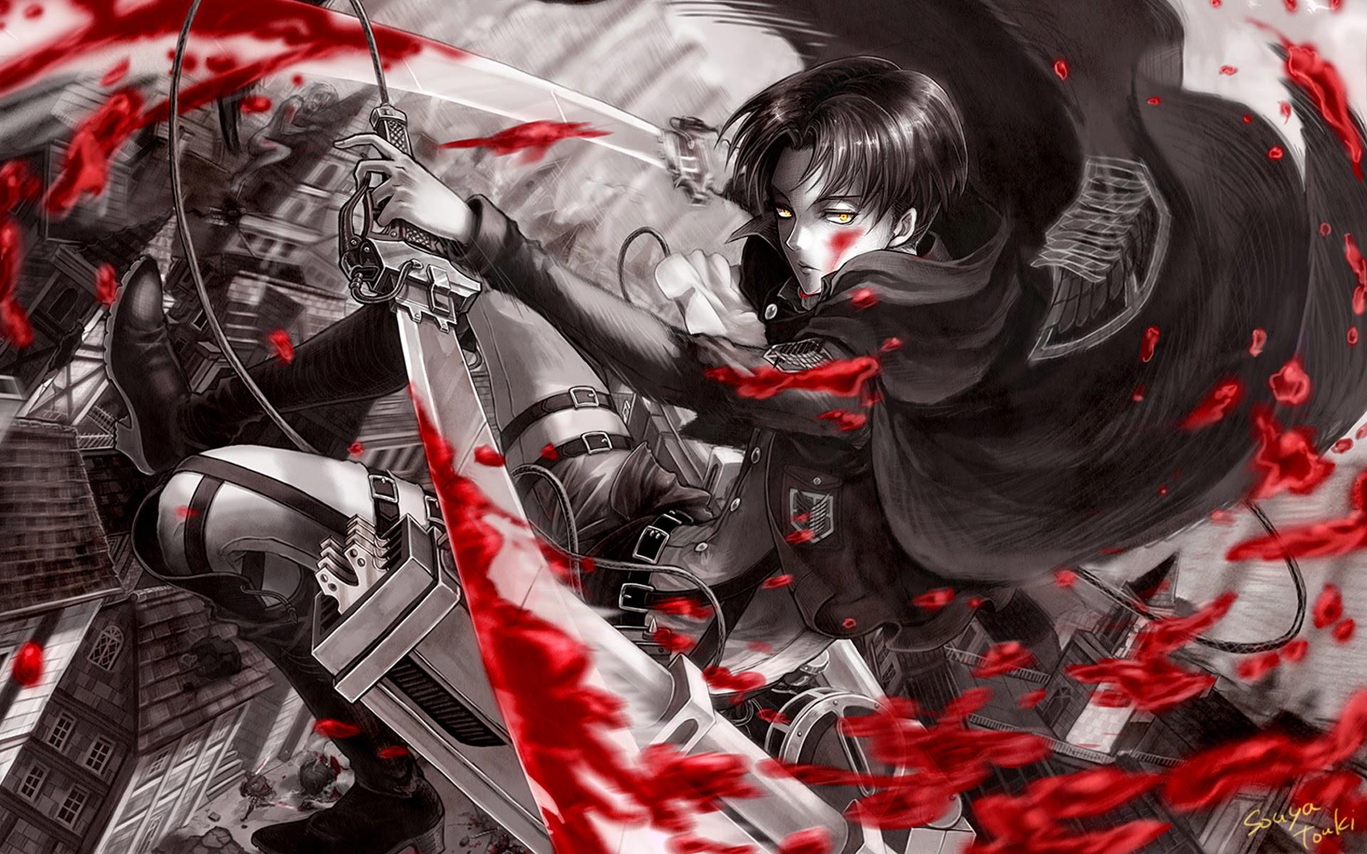 levi anime attack on titan shingeki no kyojin hd wallpaper 1920x1200 ...