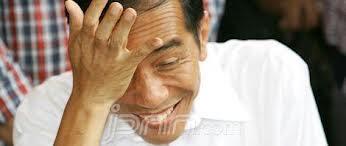 Jokowi dengan Gaya Lucunya