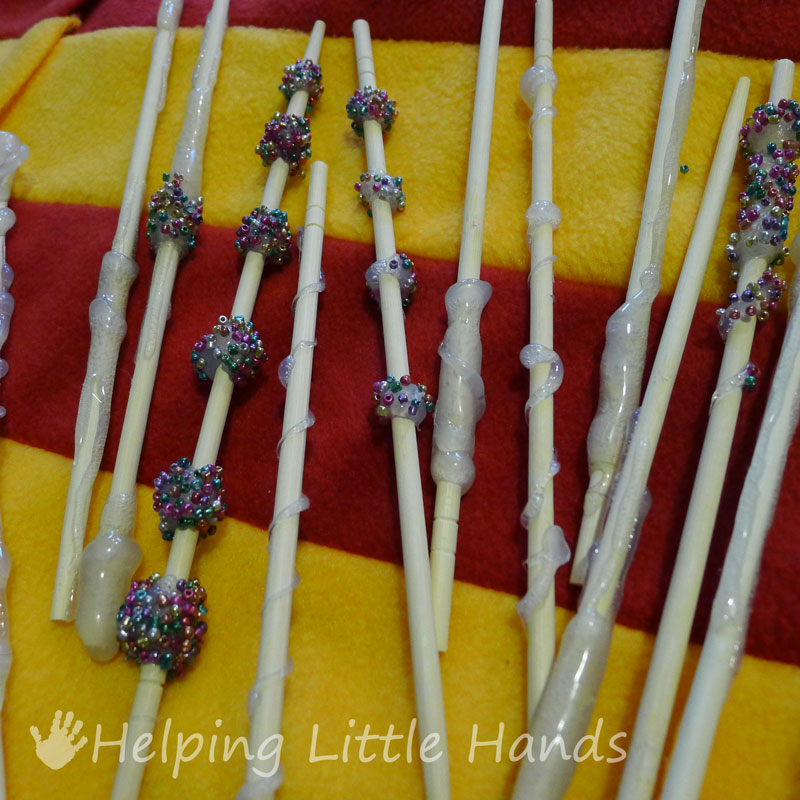 Pieces by polly diy harry potter wands solutioingenieria Image collections