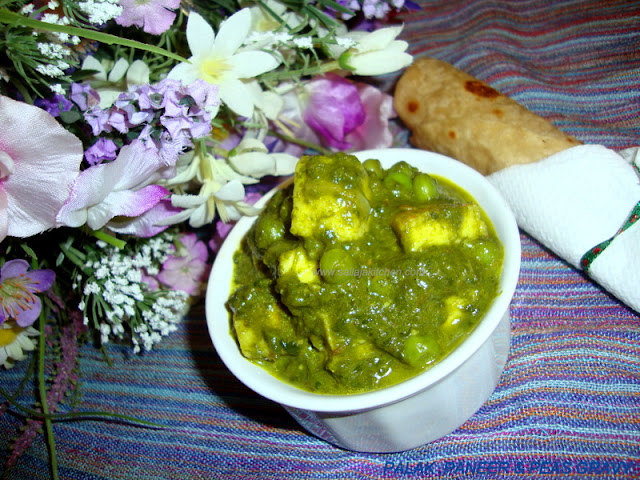 images for Palak Paneer / Palak Paneer Recipe / Spinach With Indian Cottage Cheese