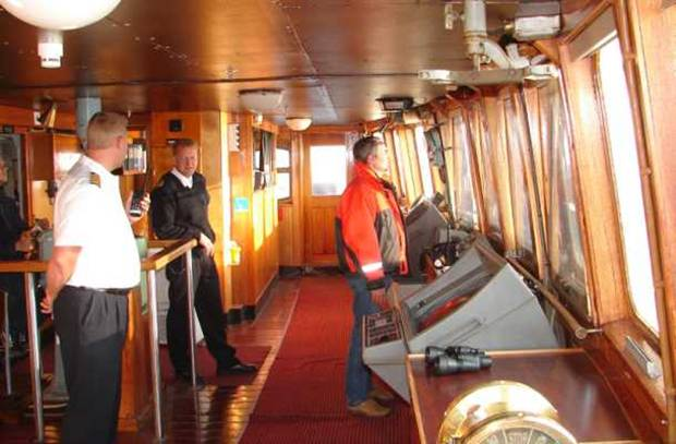 Ship captains command water vessels. This can range from small fishing boats, to tugboats or ferry boats, to private yachts, and even large cruise ships or military vessels. Ship captains must navigate their ship and manage crew members to ensure the safe and efficient operation of the ship.