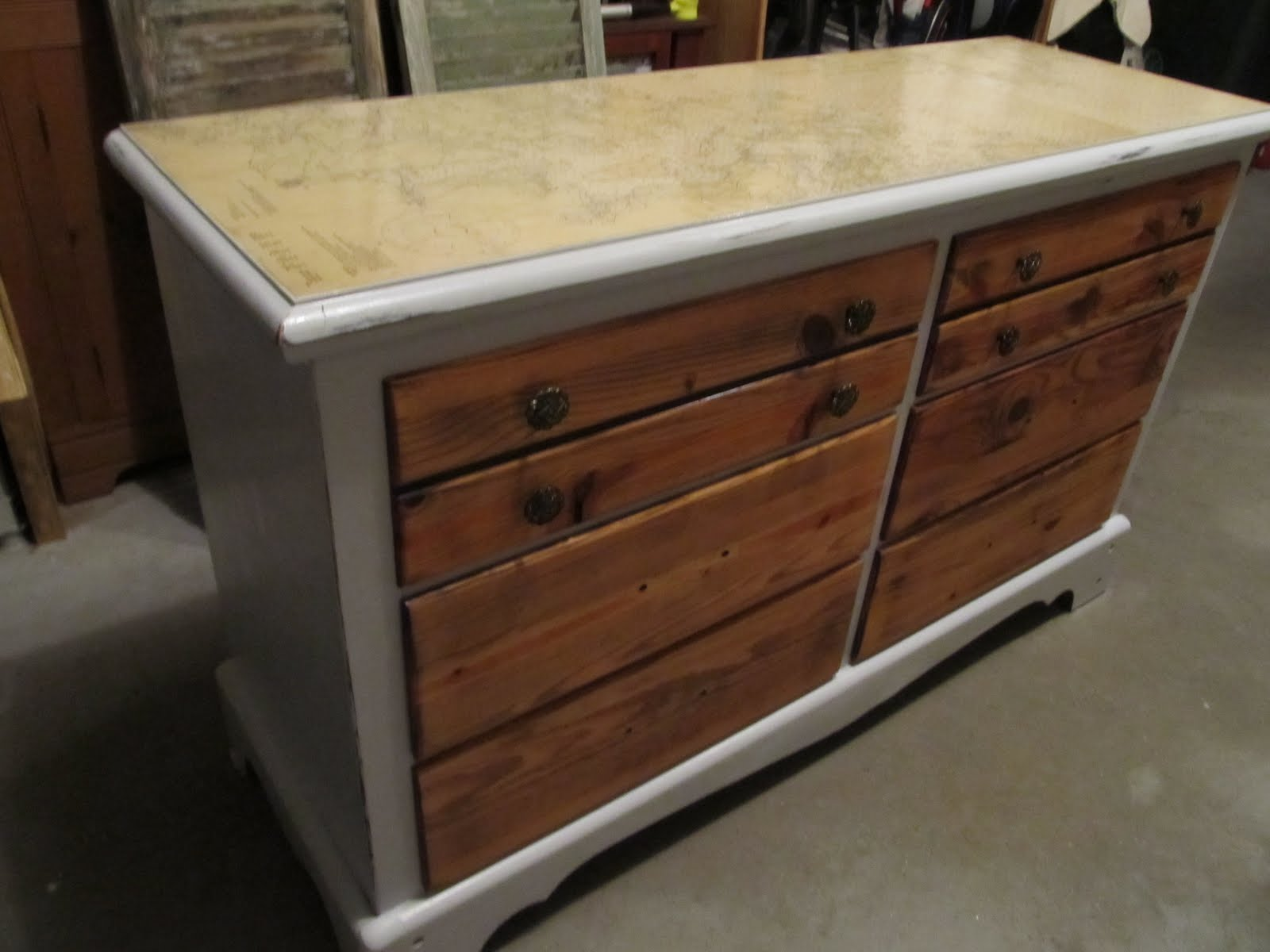 stand podium drawers drawer with versatile very map pull out