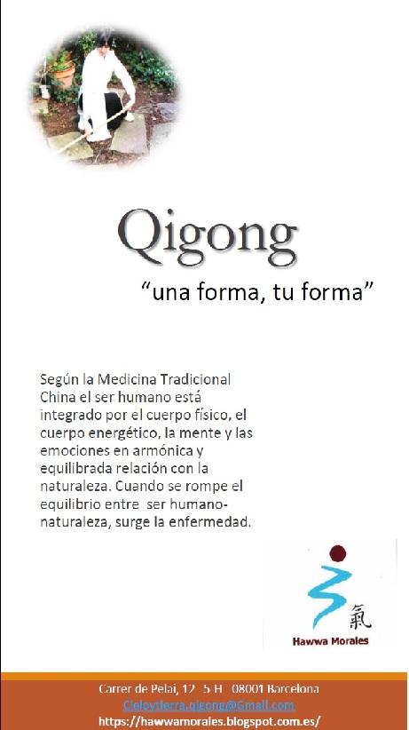 Clases de Qigong (Chi kung)