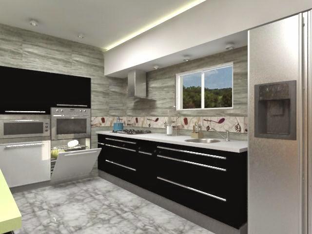 Consejos para dise ar cocinas modernas y funcionales for Diseno de cocinas minimalista