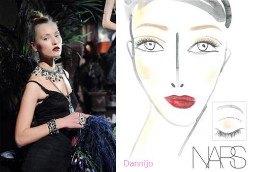maquillaje semana moda