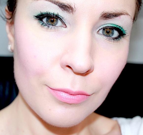 lancome C50 vert tendresse les yeux doux maquillage