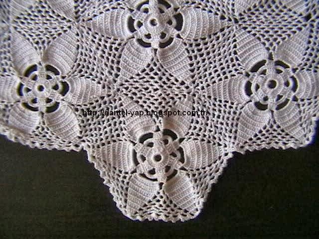 dantel örneği,dantel modeli,çeyizlik dantel