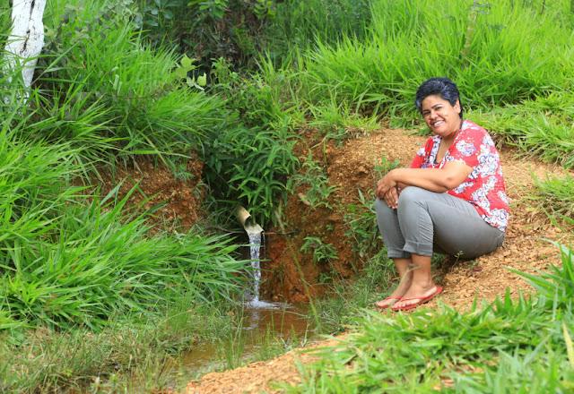 Moradores comandam projeto de horta comunitária e preservação de nascentes em São Sebastião
