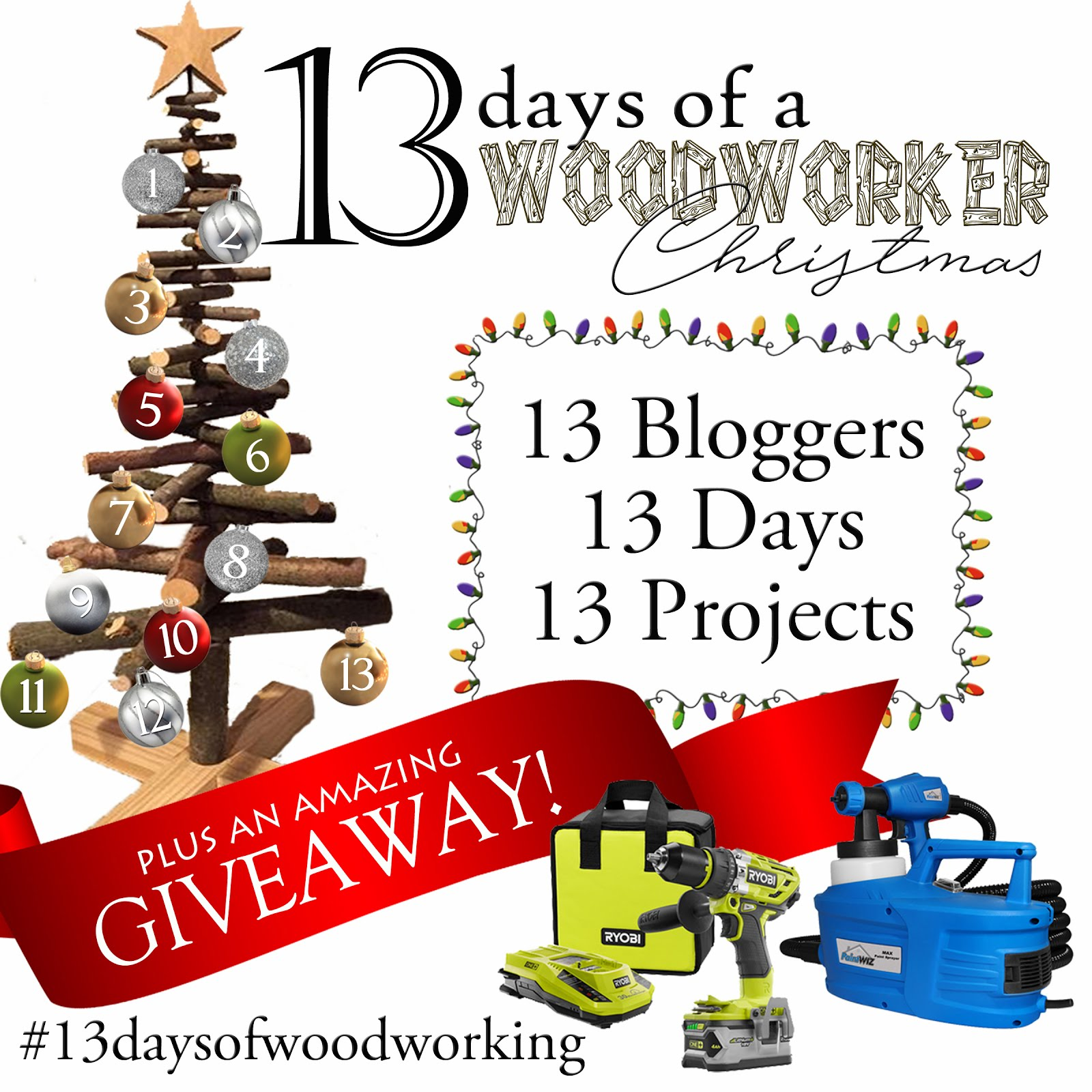 13 Days of a Woodworkers Christmas