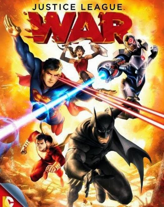 Film Justice League: War (2014)