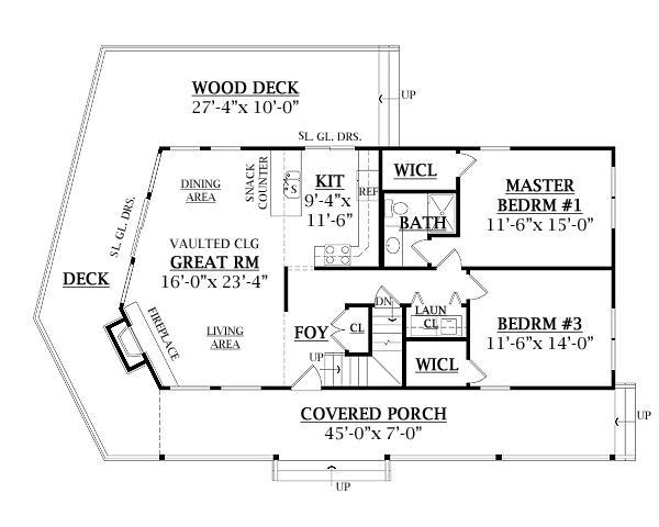 Planos casas modernas planos de casas de una planta 3 for Casa de una planta 3 dormitorios