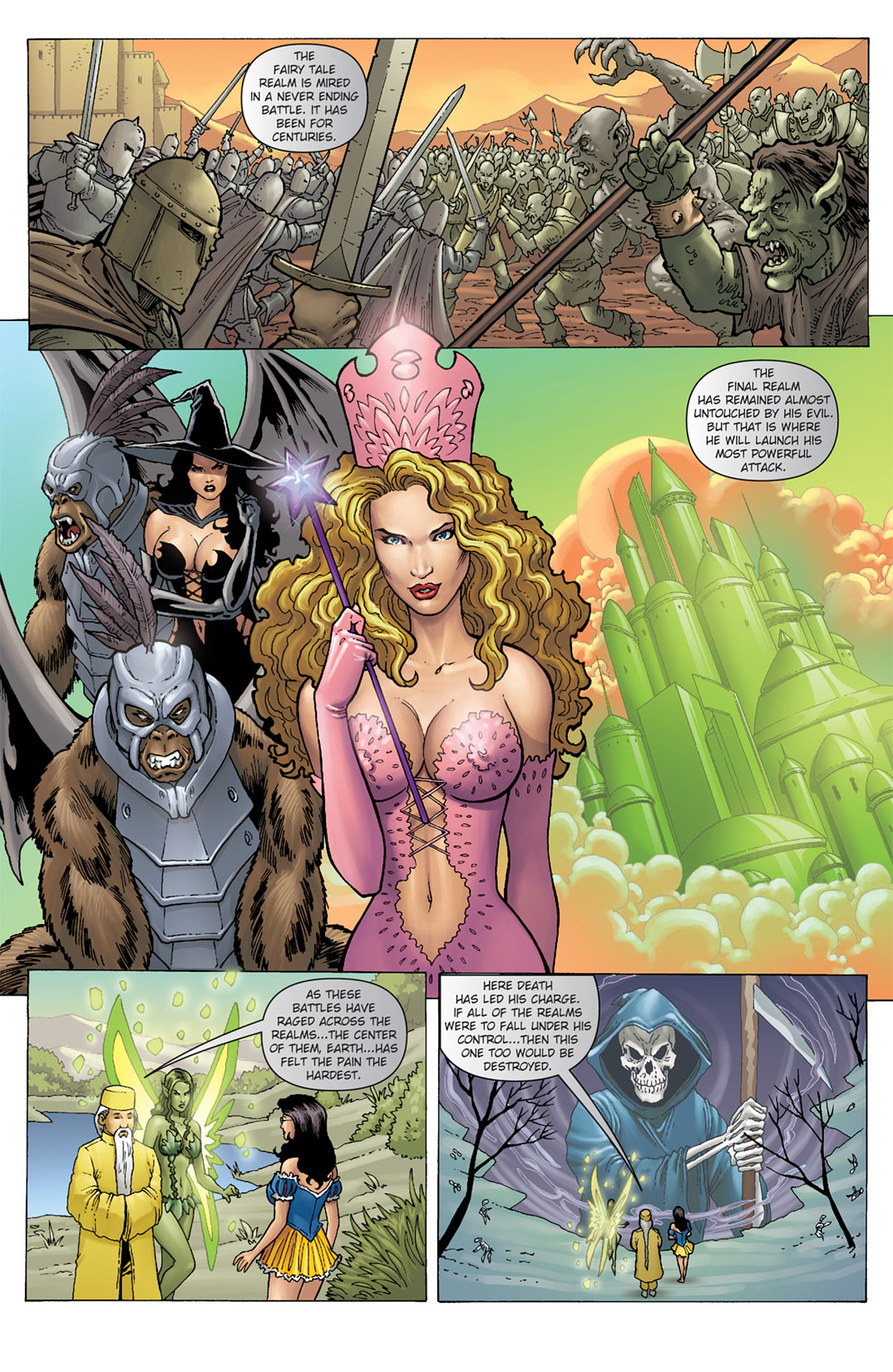Grimm Fairy Tales (2005) Issue #37 #40 - English 19