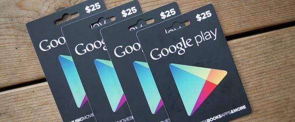 Cara Dapat Saldo Google Play Giftcard Gratis