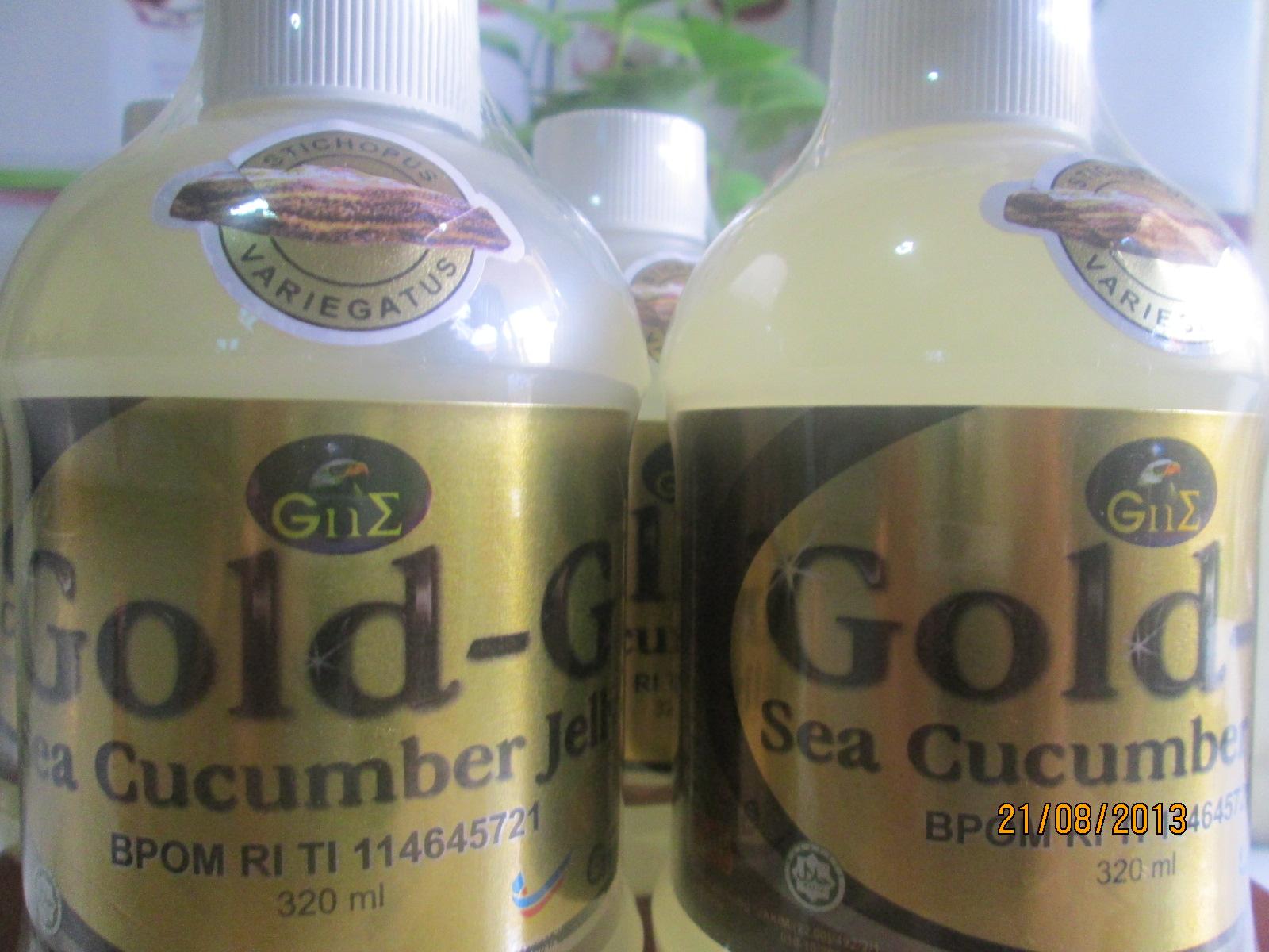 Jelly Gamat Gold G Bintaro Jaya Dan Bsd Serpong 320 Ml