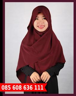 Jilbab segi empat lucu