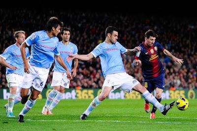 Celta Vigo vs Barcelona vivo