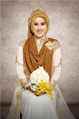 Hijab Pengantin Muslimah Terbaru