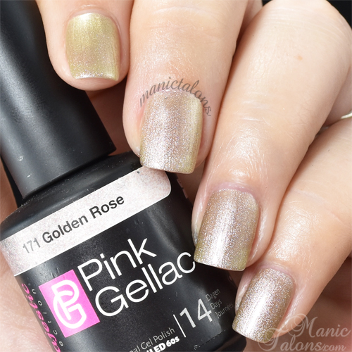 Pink Gellac Golden Rose